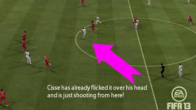 Cisse Goal Fifa13